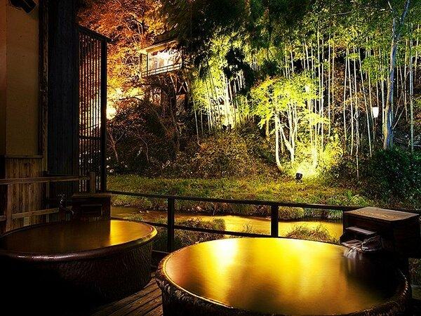 美しい風景を堪能♪人気の「貸切眺望風呂 十六夜(いざよい)の湯」