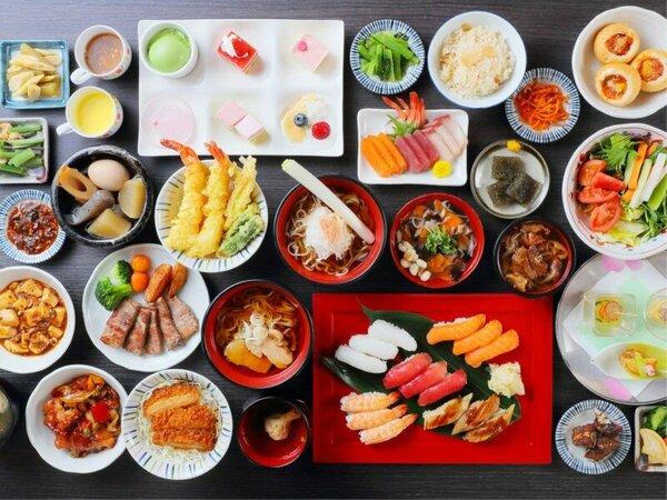 「あがらんしょ」の夕食での和食一例