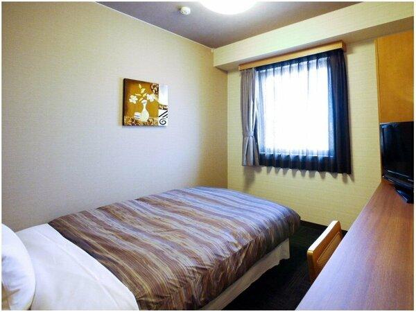 【シングルルーム・ベッド幅140cm】無料Wi-Fi、加湿機能付空気清浄器、液晶TV完備!