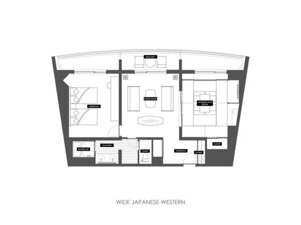 「大和洋室」(66平米)
