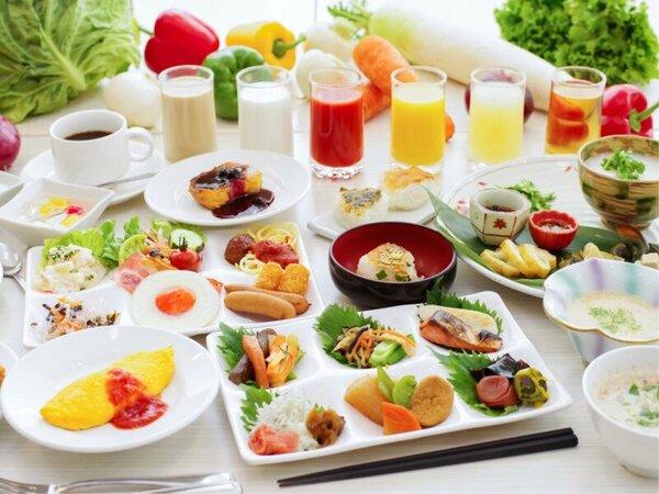 【NASUバイキングエルバージュ】和食派、洋食派どちらの方にもおすすめの朝食メニュー