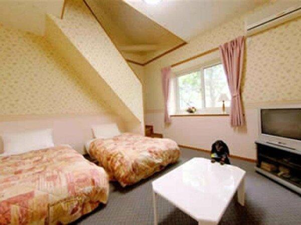 2階部分にロフトが付いたお部屋です。
