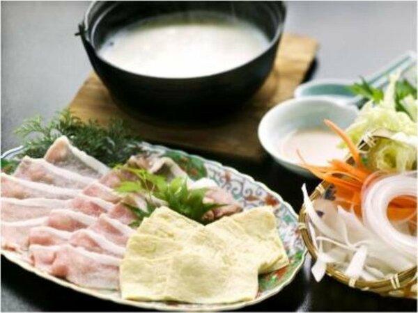 """■那須郡司豚とゆばの豆乳しゃぶ■ 「美容」に「美肌」に☆ """"美味しく食べてキレイ度UP♪"""""""