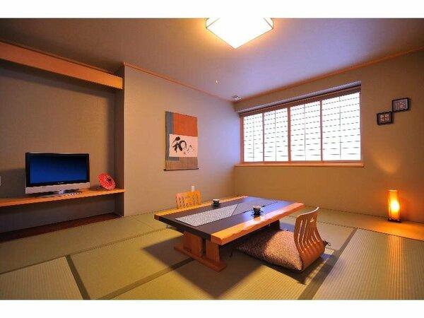 【スタンダード客室綿帽子館】10畳タイプの一例です。
