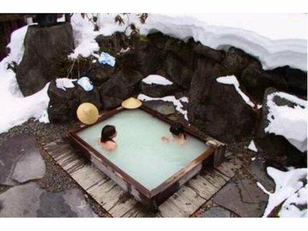 天然温泉でお肌がスベスベ♪
