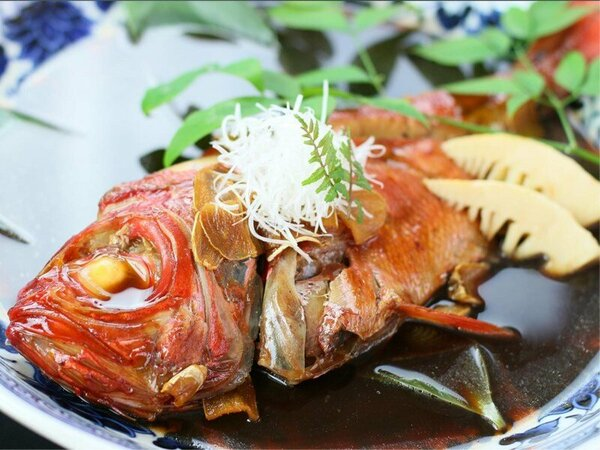 金目鯛の煮付けプラン