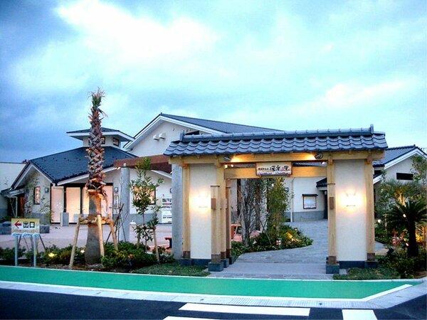 展望露天風呂を始め、横須賀初の大型岩盤浴施設や高濃度炭酸泉など一日を通してお寛ぎい