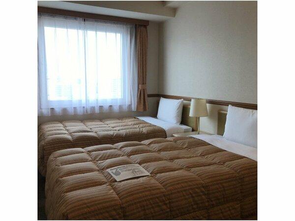 ◆ゆったりツインルーム◆名古屋観光の拠点として、是非ご利用ください!