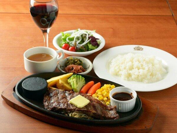 夕食プラン:牛ステーキ定食