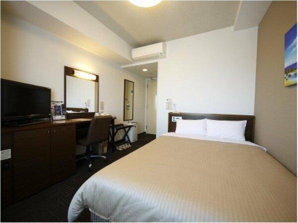 【セミダブル】14平米ベッドサイズ縦195cm×140cm:無料Wi-Fi、加湿機能付空気清浄器完備