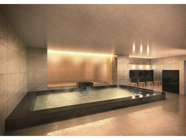 【大浴場】お部屋のユニットバスとは別に大浴場も完備。ニーズに合わせてご利用ください