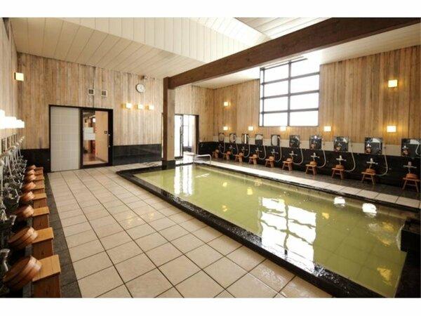 【温泉 弐の湯】広々とした温泉大浴場にて、疲れを癒してください
