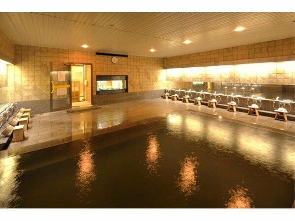 【温泉 壱の湯】広々とした温泉大浴場にて、疲れを癒してください