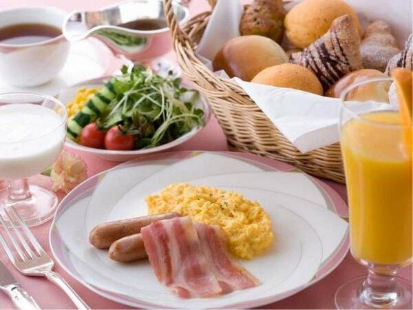 レストランフォンターナ 朝食ブッフェ一例