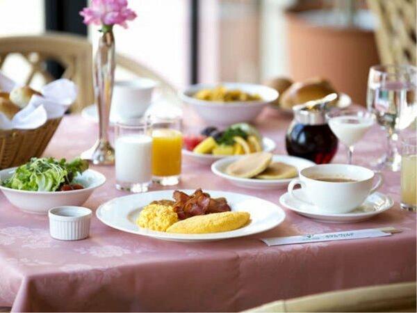 朝食ブッフェ一例 朝食営業時間7:00~9:30