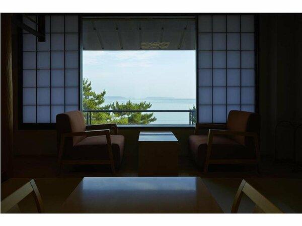 客室(海側)