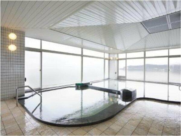 琵琶湖が見える天然温泉でリフレッシュ!!6階展望大浴場