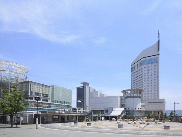 高松駅からJRホテルクレメント高松