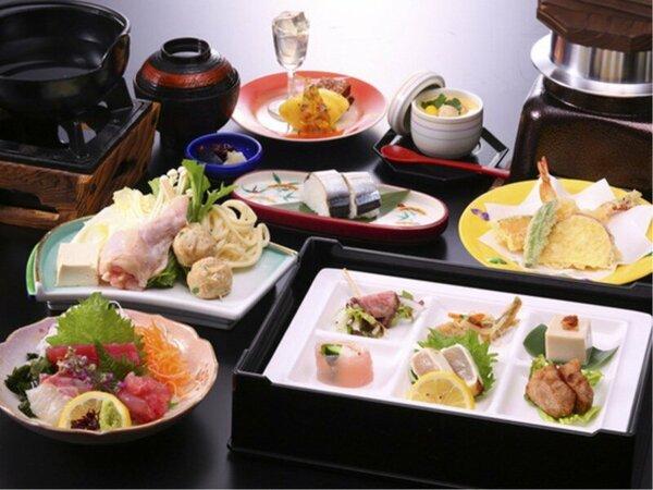 南紀のまぐろをとり入れた和食コース「那智のふるさと膳」