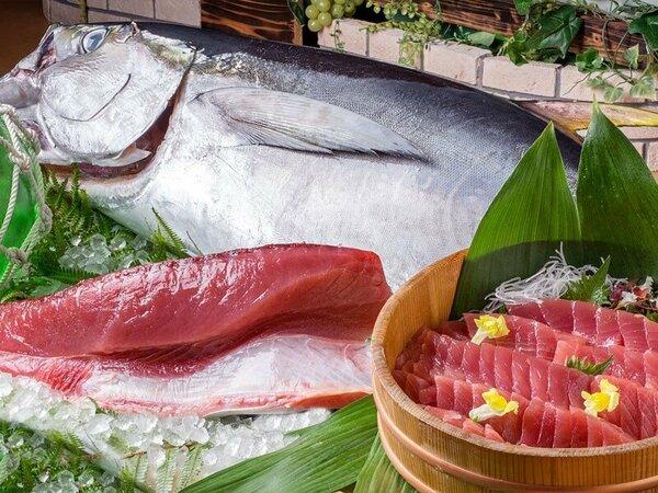 ◆お夕食バイキング~南紀勝浦ならではの生まぐろ