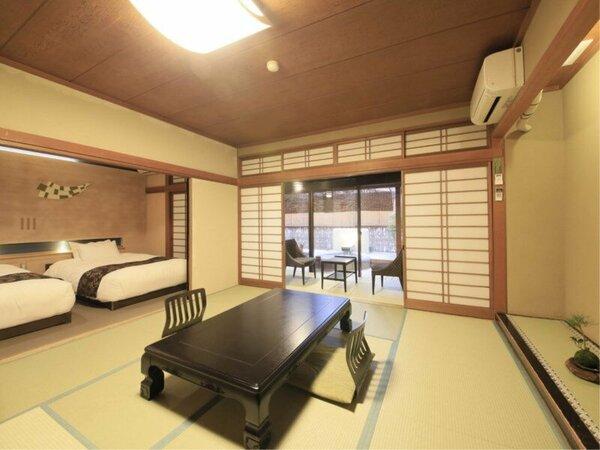 夢しずく亭*露天風呂付特別室*和室10畳+ベッドルーム