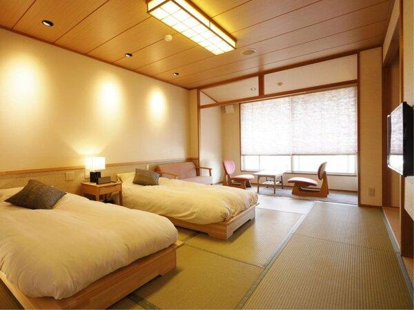 【四季亭】ローベッド和室10畳|リニューアル客室