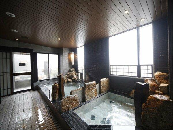 男性大浴場内湯
