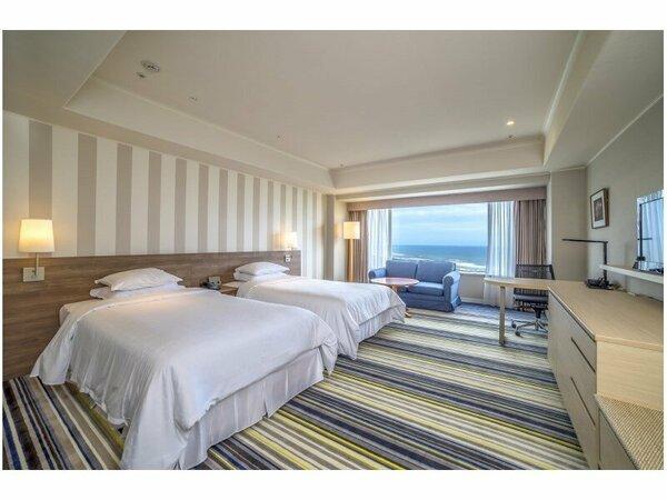 【デラックスツイン/22-35階/50平米】2015年8月リニューアルしたお部屋です