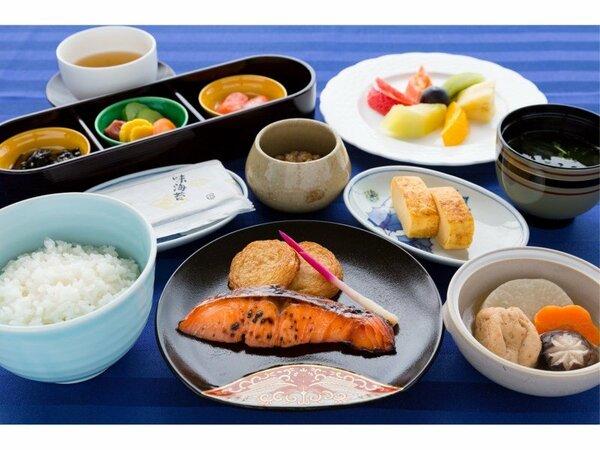 ルームサービスの朝食<和定食>