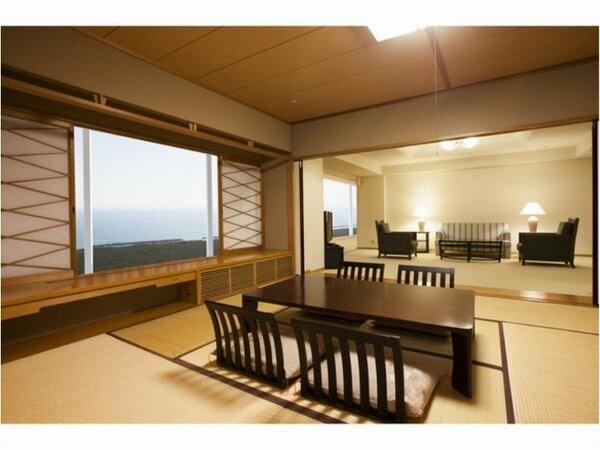 和室ファミリー(92~106平米)客室一例※ゆったり92平米~の心安らげる10畳の和室で大人の贅沢を