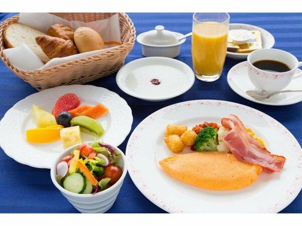ルームサービスの朝食<アメリカン ブレックファスト>