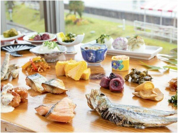 朝食バイキング「一木一草」☆和食のイメージ