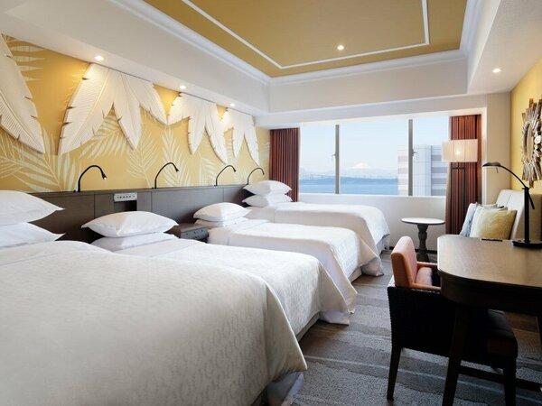 PARK WINGルーム 4ベッド 客室一例