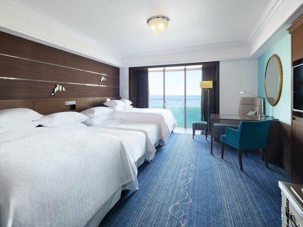 オーシャンドリームルーム 4ベッド 客室一例