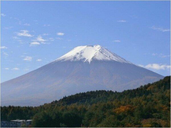 一部のお部屋から世界遺産「富士山」が望めます