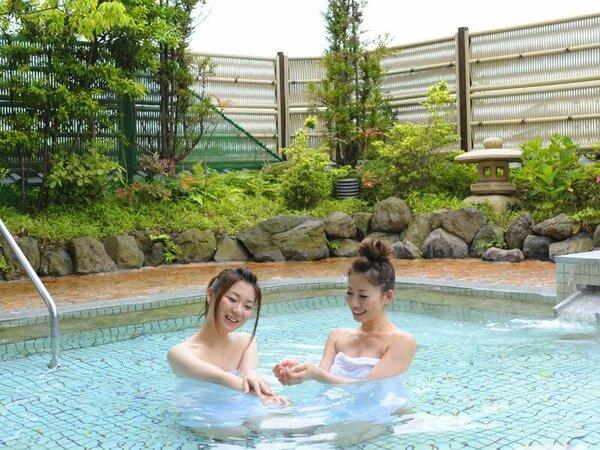 露天風呂でゆったり(男女入れ替え制)