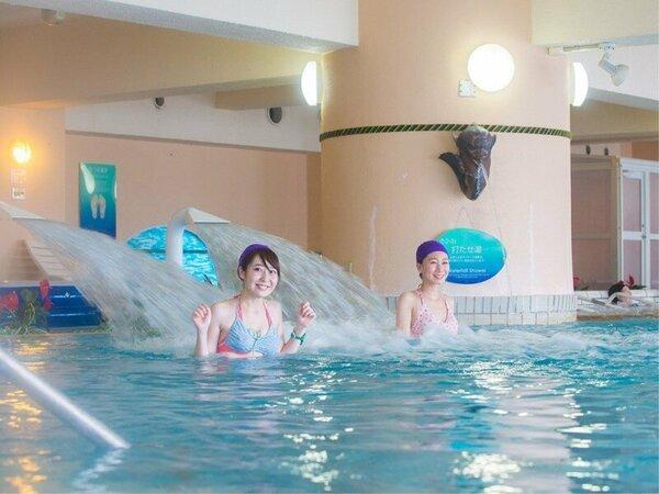 水着で楽しめる温泉クアパーク