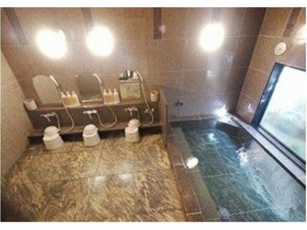【大浴場】女性浴場☆ラジウム人工温泉で手足を伸ばして、身体を温めて下さい♪