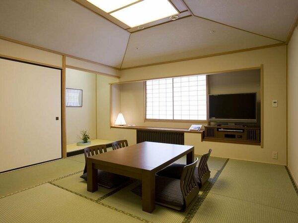 行灯のやわらかい光が誘う和室「和風空間 渚亭」