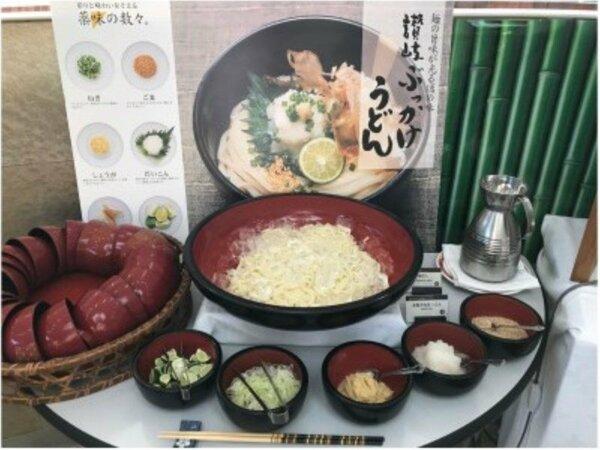 朝食バイキング(さぬきうどん)