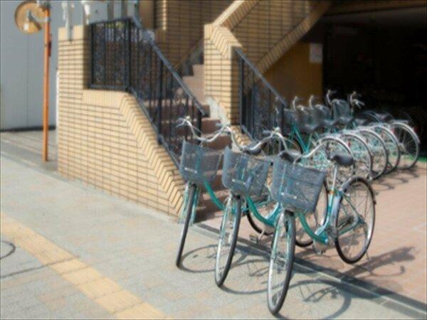 無料貸し自転車