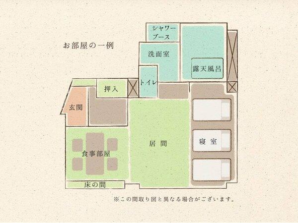 ◇お部屋の一例(67.5平米Aタイプ)◇