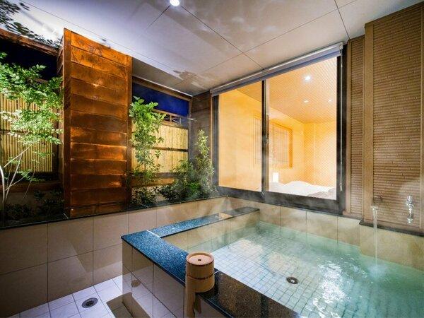 ◆客室温泉露天風呂(67.5平米Aタイプ)◆