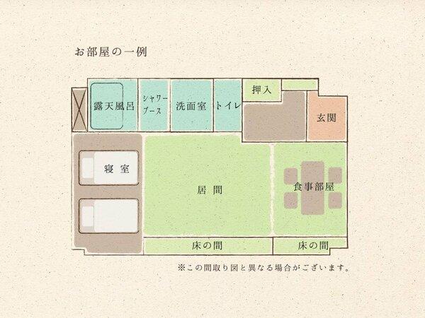 ◇お部屋の一例(55.8平米)◇