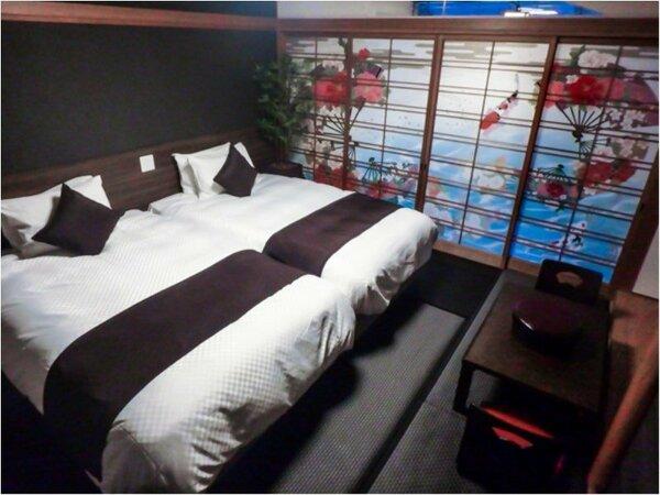 和室C 27平米 ベッドサイズ195×120 喫煙