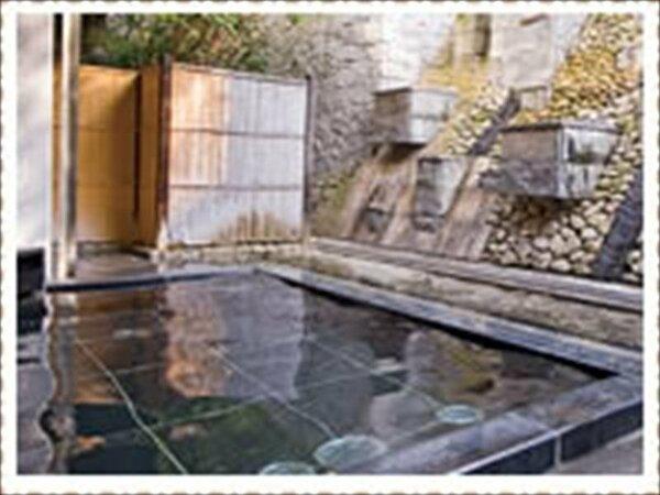 漱石の湯 露天風呂