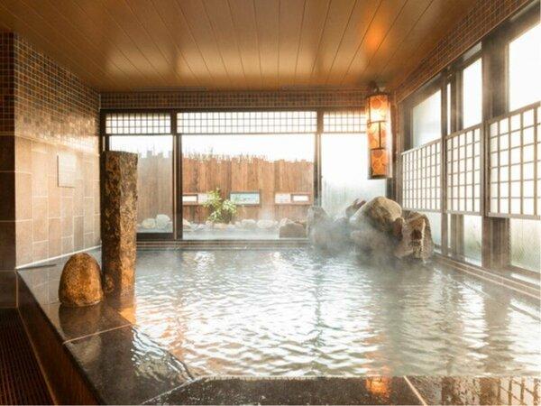 ◆女性大浴場内湯 アルカリ性温泉は別名「美人の湯」美肌効果に抜群♪