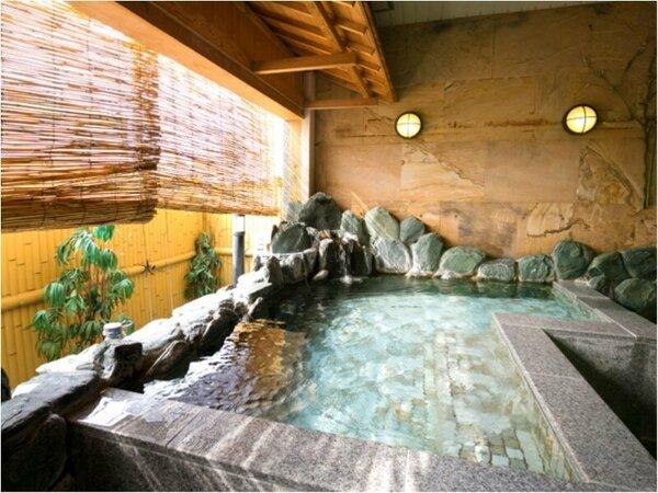 ■露天風呂■あなたを癒す幸せ空間がそこに…(女湯)