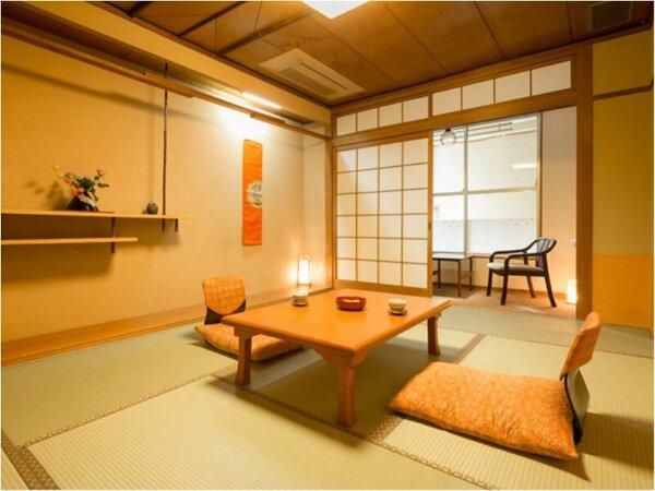 ■和室7.5畳■ちょっぴり狭めだけど、大好きな人とならぴったりサイズ!