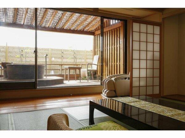 【三の館】清月亭 露天風呂付客室